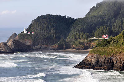 Photograph - Lighthouse Estate by Kirt Tisdale