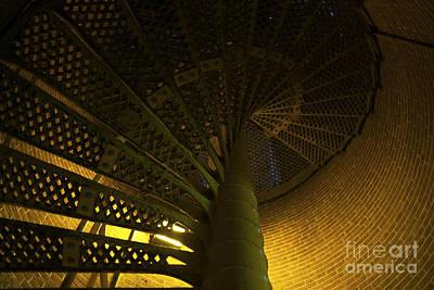 Photograph - Lighthouse Glow 2014 by John Rizzuto
