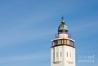 Photograph - Lighthouse Harlingen by Jan Brons
