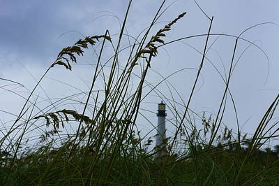 Katharine Hepburn - Lighthouse in the Distance 2 by Laurie Perry