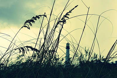 Photograph - Lighthouse In The Distance by Laurie Perry