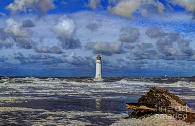 Photograph - Lighthouse by Spikey Mouse Photography
