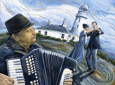 Lighthouse Keeper's Waltz Original by Paula Blasius McHugh