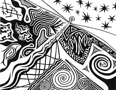Lighthouse Art Print by Kerri White