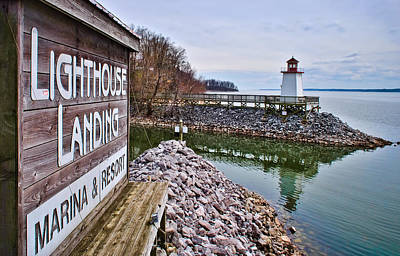 Photograph - Lighthouse Landing Inlet by Greg Jackson
