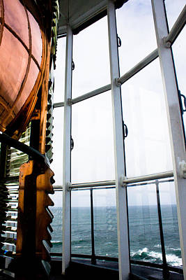 John Daly Photograph - Lighthouse Lens by John Daly
