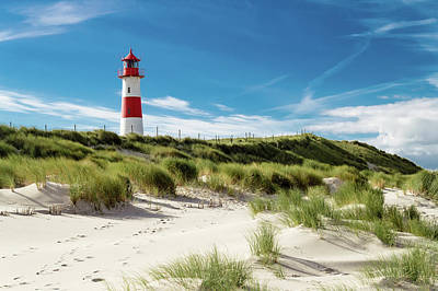 Photograph - Lighthouse List by Symbiont