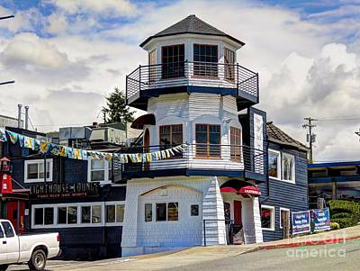 Photograph - Lighthouse Lounge by Chris Anderson