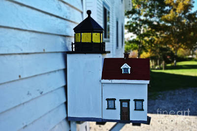 Photograph - Lighthouse Mailbox by Elvis Vaughn