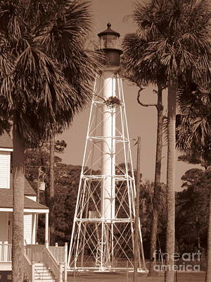 Florida Photograph - Lighthouse by Megan Cohen