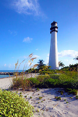 Cape Florida Lighthouse Photograph - Lighthouse by Mitch Cat