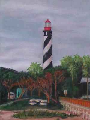 Lighthouse Morning Art Print