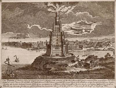 Ptolemy Photograph - Lighthouse Of Alexandria by Mid-manhattan Picture Collection/new York Public Library