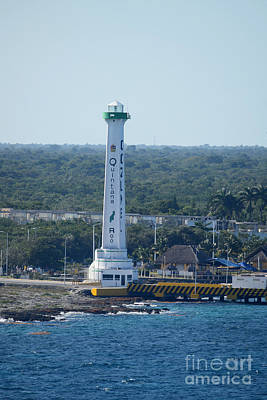 Photograph - Lighthouse Of Cozumel by Gary Smith