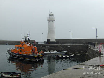 Photograph - Lighthouse Of Donaghadee Ireland by Brenda Brown