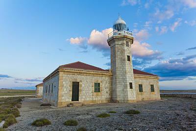 Lighthouse Of Punta Nati Art Print by Antonio Macias Marin