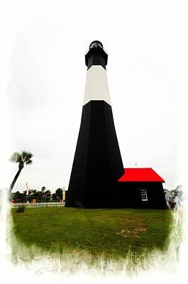 Lighthouse Of Tybee Island Art Print by Kathleen Struckle