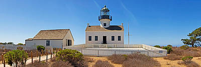 Lighthouse, Old Point Loma Lighthouse Art Print by Panoramic Images