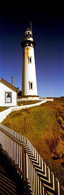 Lighthouse On A Cliff, Pigeon Point Art Print