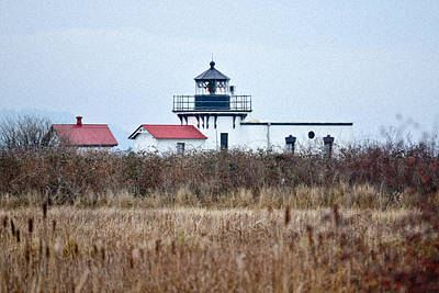 Photograph - Lighthouse On A Winter's Day by Ronda Broatch