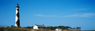 Cape Lookout Photograph - Lighthouse On An Island, Cape Lookout by Panoramic Images
