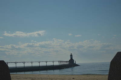 Photograph - Lighthouse On Clear Day. by Cim Paddock