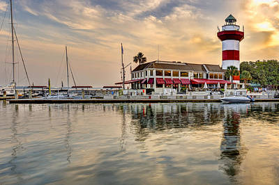 Photograph - Lighthouse On Hilton Head Island by Peter Lakomy