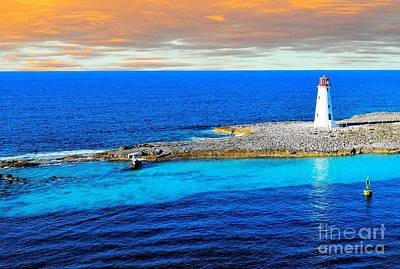 Photograph - Lighthouse On Paradise Island by Janette Boyd