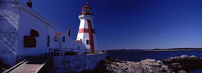 Lighthouse On The Coast, Head Harbour Art Print