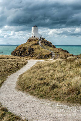 Path Photograph - Lighthouse Path by Adrian Evans