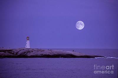 Lighthouse, Peggys Cove Art Print by Novastock