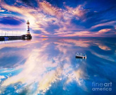 Europe Digital Art - Lighthouse by Jacky Gerritsen
