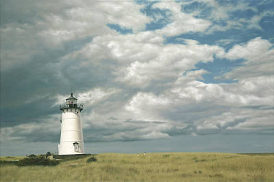 Buzzard Wall Art - Painting - Lighthouse Picnic by Julia O'Malley-Keyes