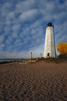 Shore Photograph - Lighthouse Point Park  by Susan Candelario