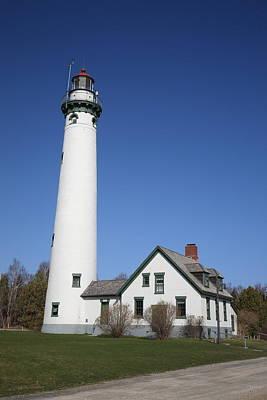 Photograph - Lighthouse - Presque Isle Michigan by Frank Romeo