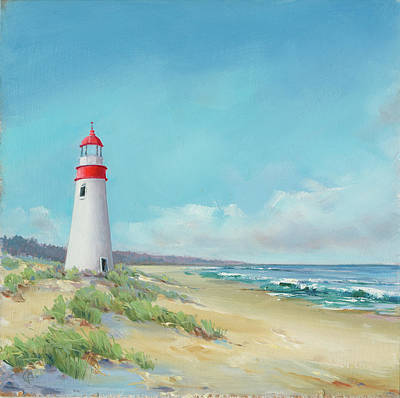 Lighthouse Art Print by P.s. Art Studios