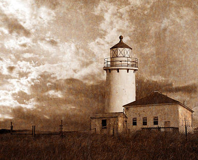 Digital Art - Lighthouse by Rick Mosher