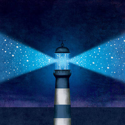 Digital Art - Lighthouse by Roberto Weigand