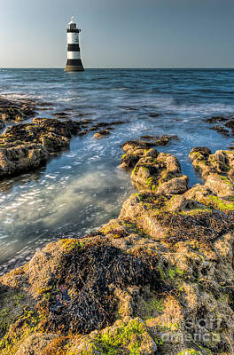 Photograph - Lighthouse Rocks by Adrian Evans