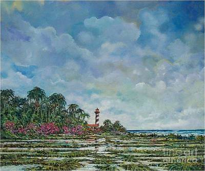 Lighthouse Art Print by Sinisa Saratlic