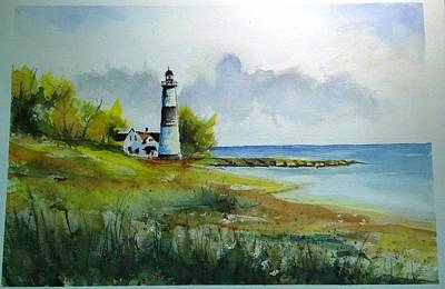 Lighthouse Sold Art Print