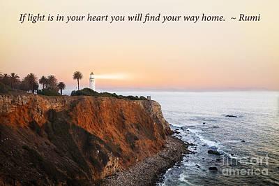 Inspirational Photograph - Lighthouse by Stella Levi