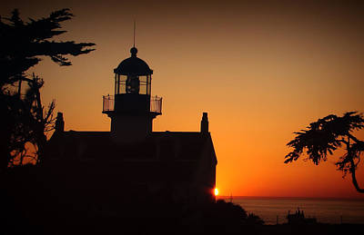 Art Print featuring the photograph Lighthouse by Steve Benefiel