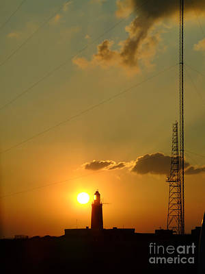 Tele Photograph - Lighthouse Sunrise 03 by Antony McAulay