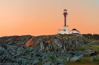 Photograph - Lighthouse Sunset by Garvin Hunter