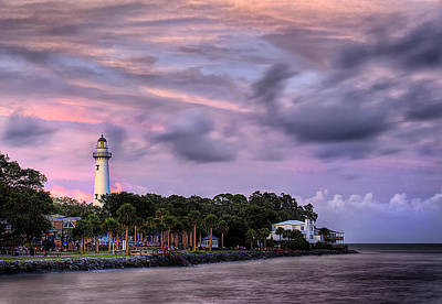 St. Simons Island Photograph - Lighthouse by Tim Palmer