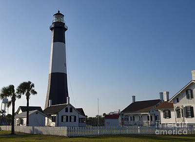 Photograph - Lighthouse Tybee by David Arment