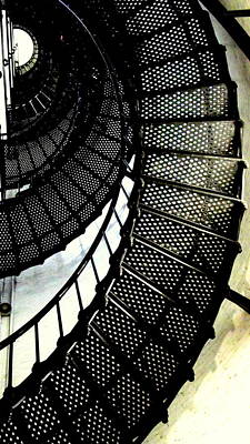 Rebecca West Photograph - Lighthouse V by Rebecca West