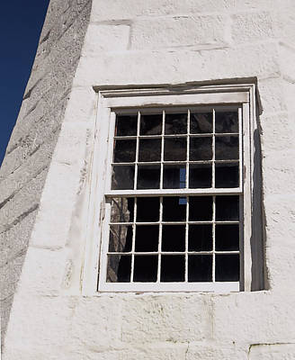 Photograph - Lighthouse Window by Janice Drew