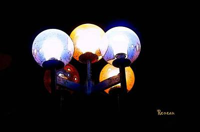 Photograph - Lighting Cluster by Sadie Reneau